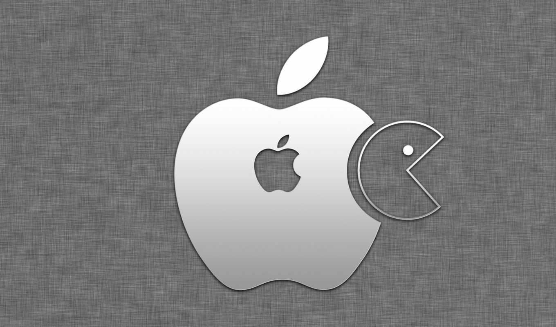 ,apple, pacman