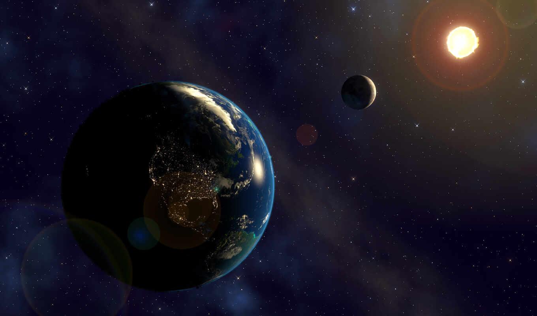 земля, солнечный, planeta, живой, kosmos, moch, окно, zatmenie, sistema, blizkii, drug