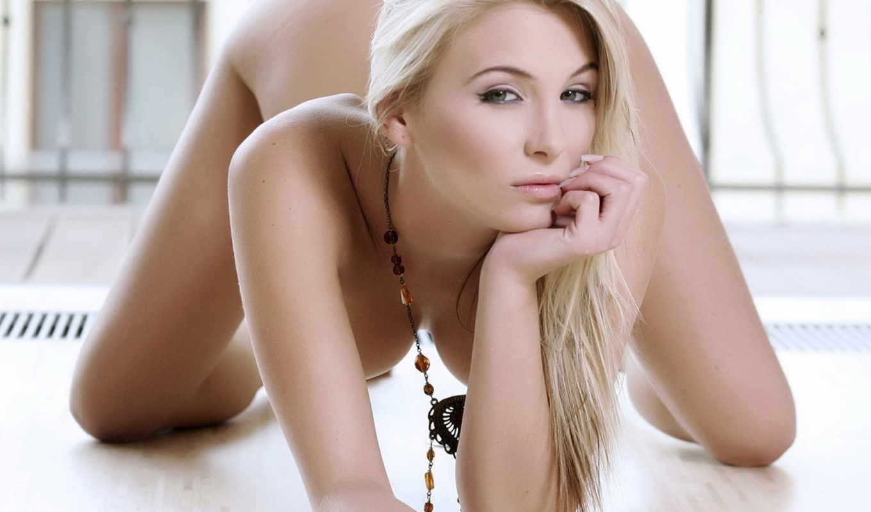 тело, blonde, волосы, голое, devushki, длинные, голая, глаза,
