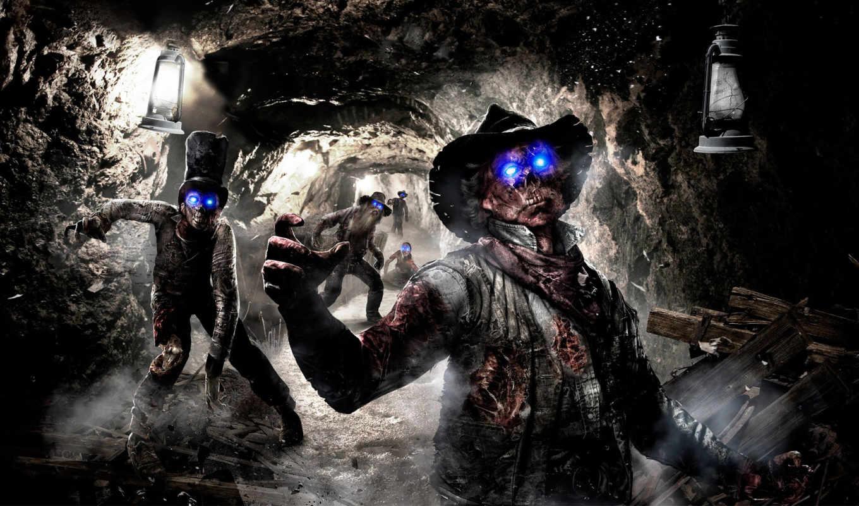 zombies, black, ops, зомби, колл, апокалипсис, duty,