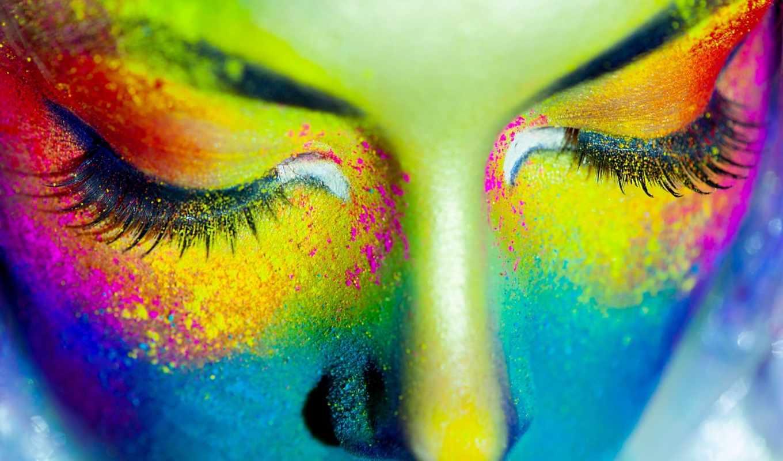 девушка, краски, стиль, dhgate, лицо, ресницы, живопись, скидка, ultra, fotolia,