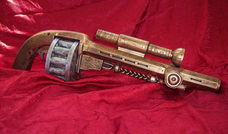 оружие, стариное, барабан, эксклюзив, мастерство, огнестрельное, картинка, старинный, вампиров, против, часть, разрывные,
