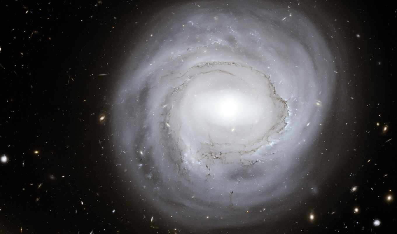 галактика, круглая,