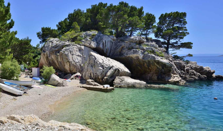 хорватия, море, изображение, фото, free, побережье, тематика, adriatic, desktop,