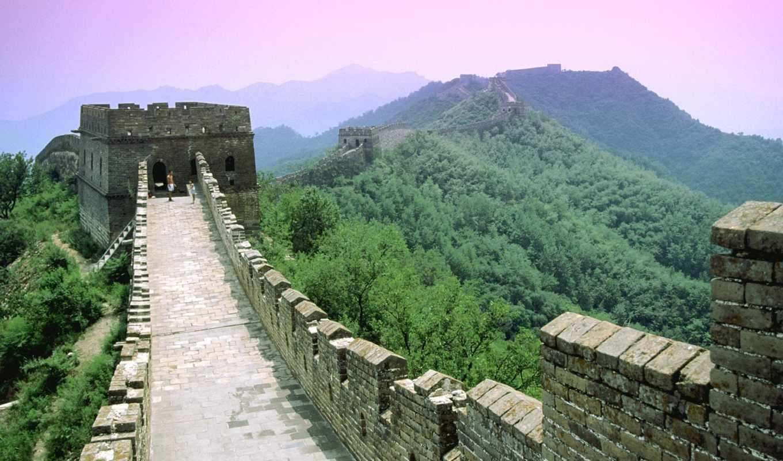 china, great, стена, китайская, великая,