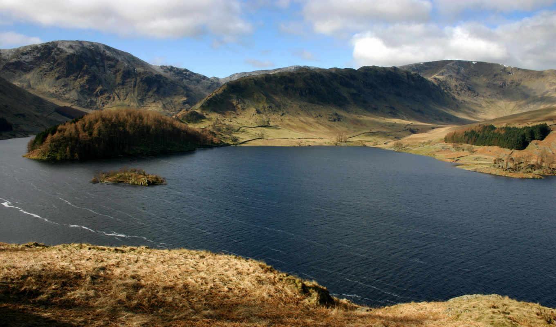 park, озеро, district, природа, national, ук, парки, англия, cumbria,