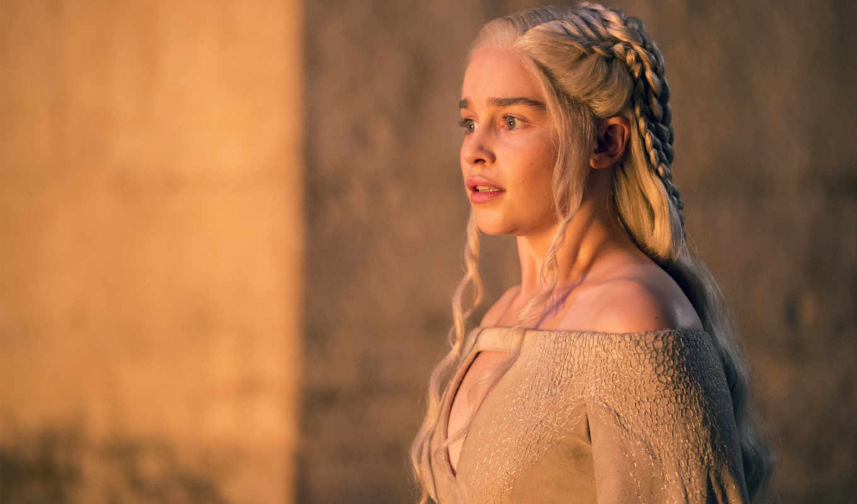 daenerys, season, game, thrones, targaryen, emilia, мин, clarke,