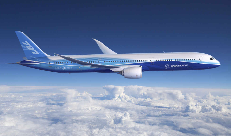 boeing, dreamliner, авиация, небо, самолеты, самолёт, dreamline, oblaka, истребитель,