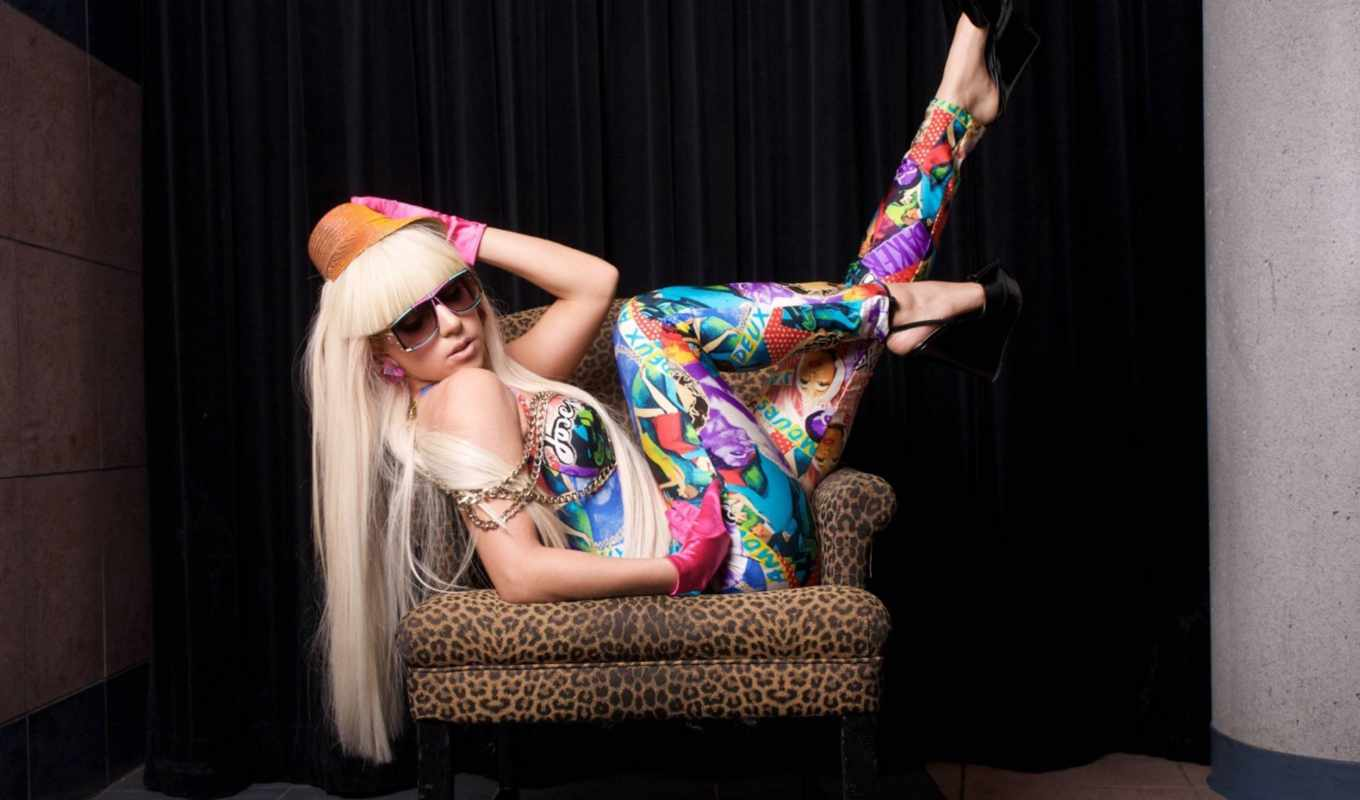 gaga, lady, colorful, this, download,
