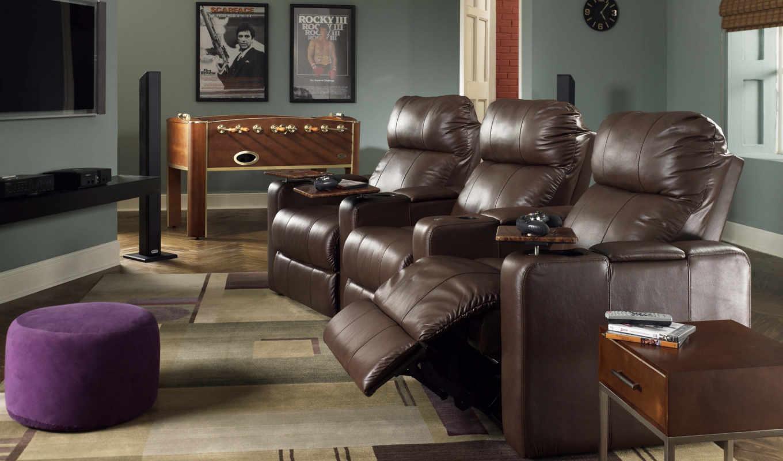 кресла, кожаные, дом, дома, мебель, стенами, квартиры, дек, нтерьер, интерьер, доме, диваны, кинотеатра, кресло, детские,