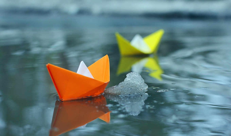кораблики, кораблик, бумага, бумаги, бумажные, сделать,