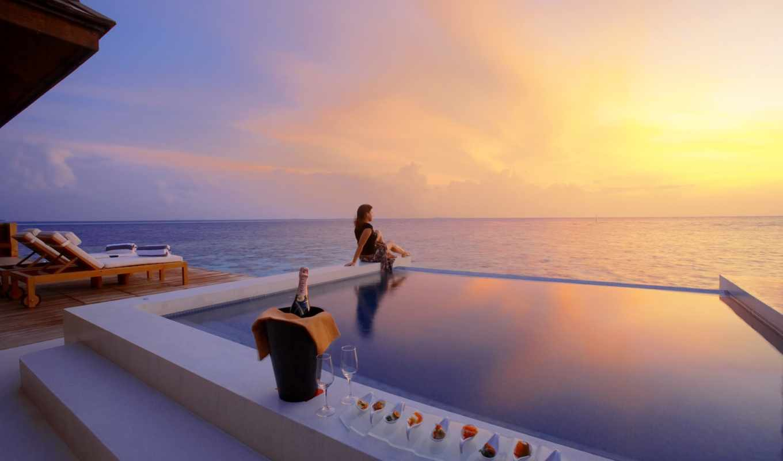 пляж, hotel, resort, спа, отзывы, maldives, lily, отели, отеля, huvahendhoo, отеле,