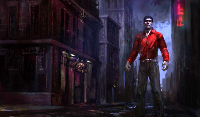 vampire, masquerade, bloodlines, прохождение, дек, tesler, subscribesubscribedunsubscribe, канал,