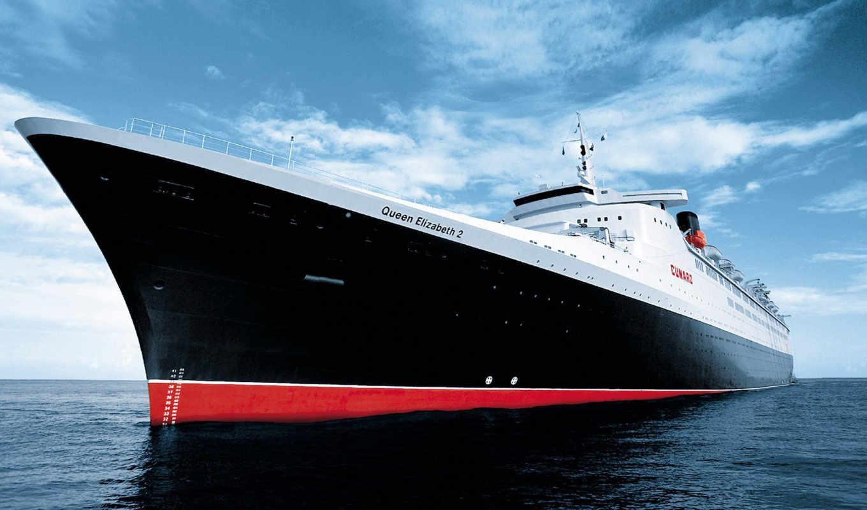 queen, корабль, elizabeth, фирмы, корабли, ms, лайнер, ocean,