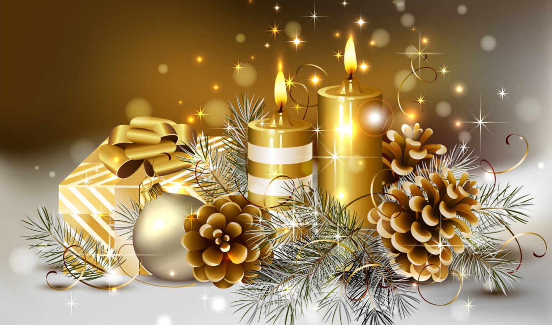 ornaments, christmas, background, новым, годом, свечи, candles, красота, dreamies, christimas, тонкий, мяч, красивые, desktop, подарки, прохладный, коробка,