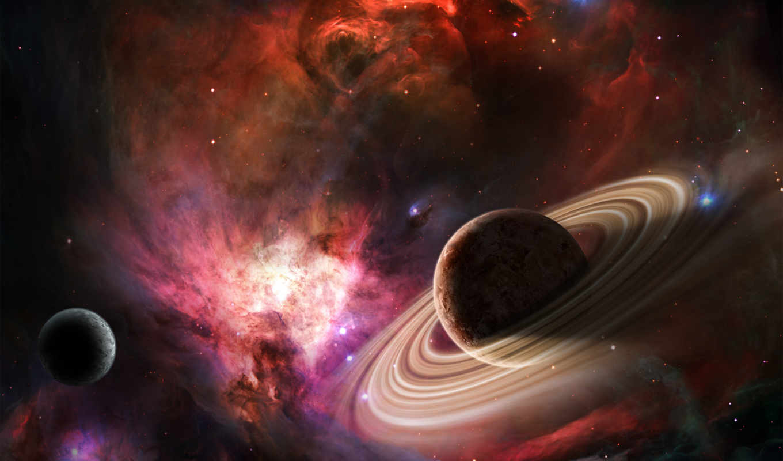 космос, звезды, nebula,