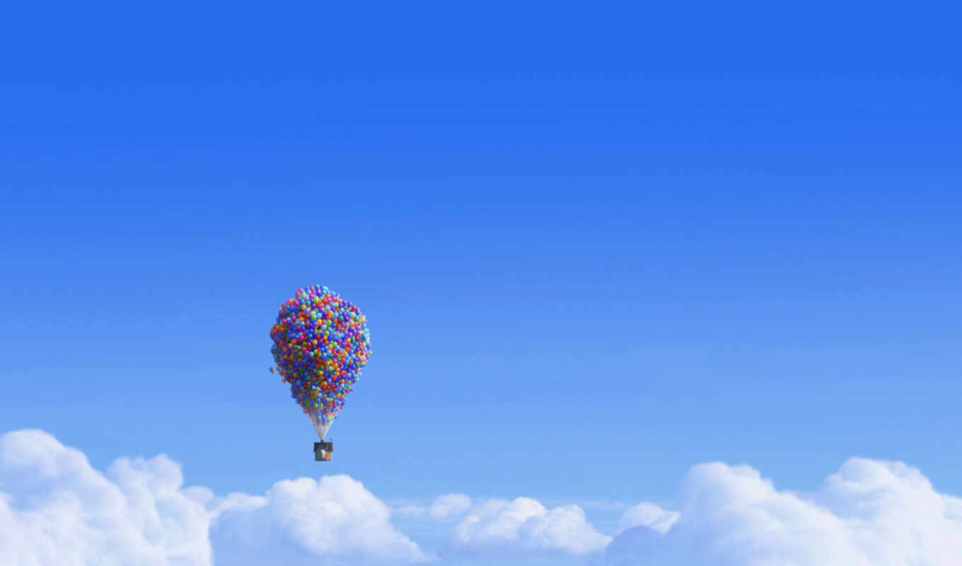 movie, сниматься, balloons, desktop, house,