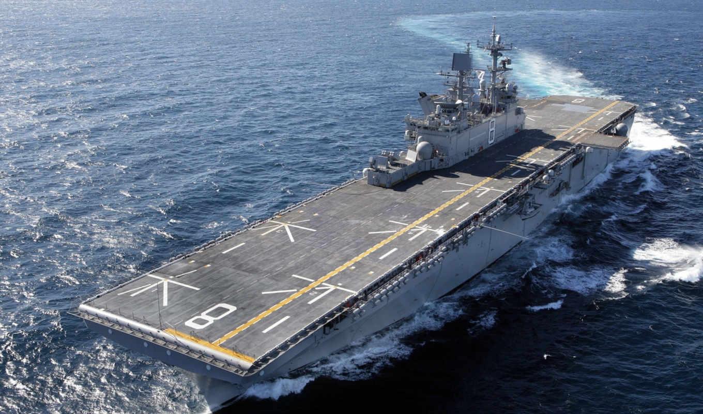 корабли, сша, десантные, военном, типа, десантных, флоте,