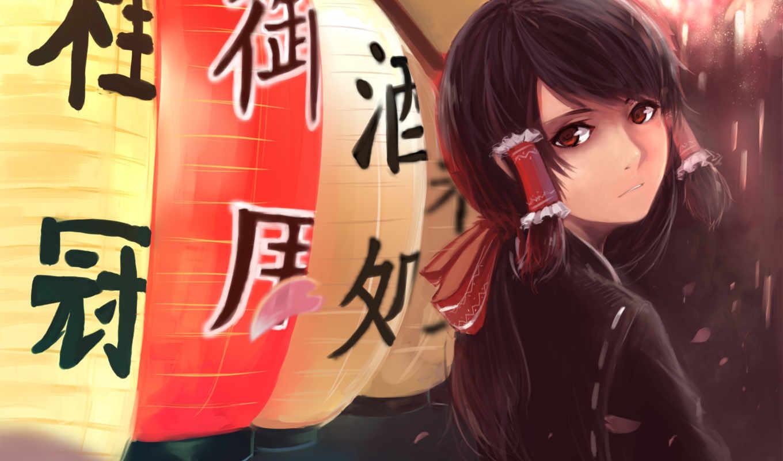 anime, девушка, коллекция, количество, art,