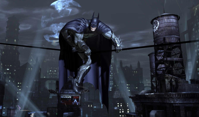 batman, arkham, тег, широкоформатные, которых, есть, darkness, всех,