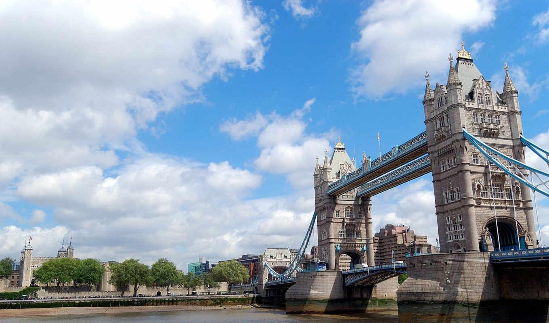 london, мост, башня, бесплатные, тауэрский,