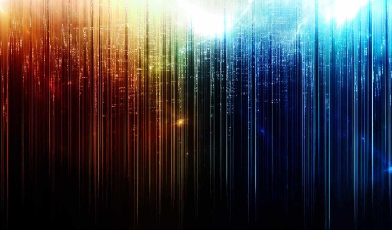 abstract, абстракция, color, wall, радужный, вид, звездный, дождь, линии,