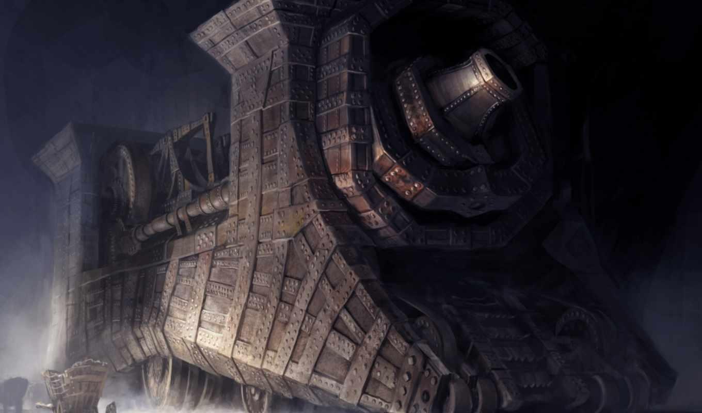 guild, wars, concept, steampunk,