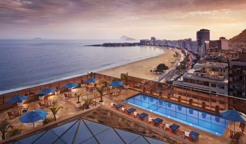 marriott, rio, janeiro, jw, hotel, copacabana,