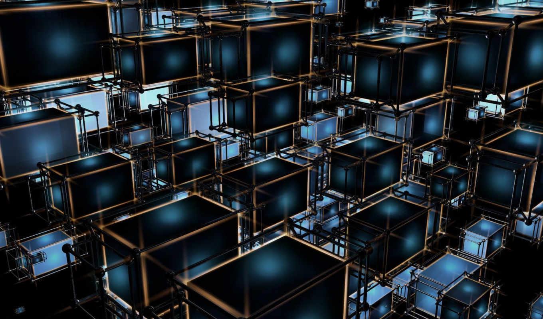 structure, прямоугольники, качественные, rendering, квадраты, марта,