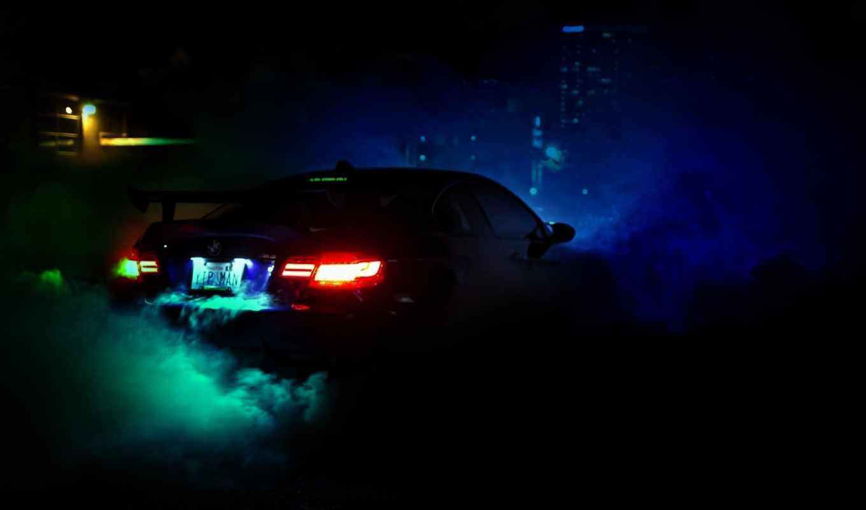 bmw, виа, dark, racing, crew, syndicate, улица, авария,