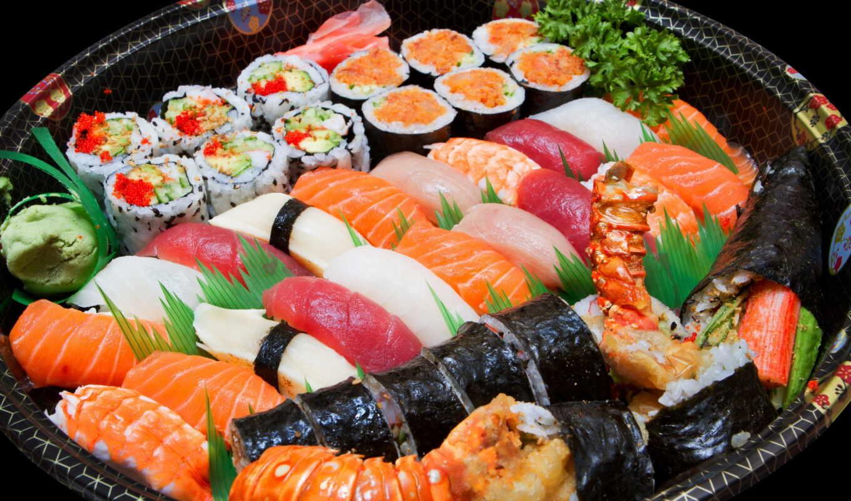 sushi, роллы, морепродукты, купить, кухня, ассорти, eда, рись,