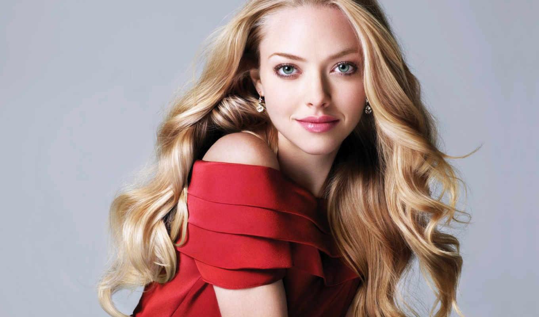 blonde, платье, красном, девушка, devushki,
