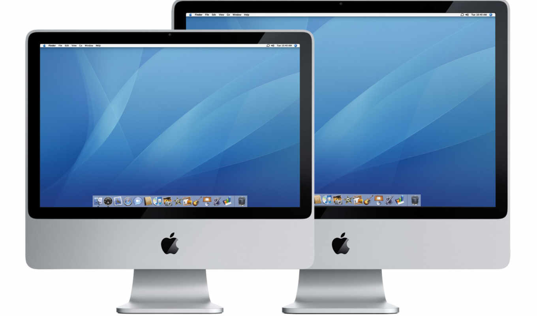 apple, mac, монитор