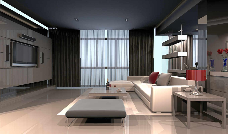 комната, тек, hai, design, интерьер, стиле, living, стиль, графика,