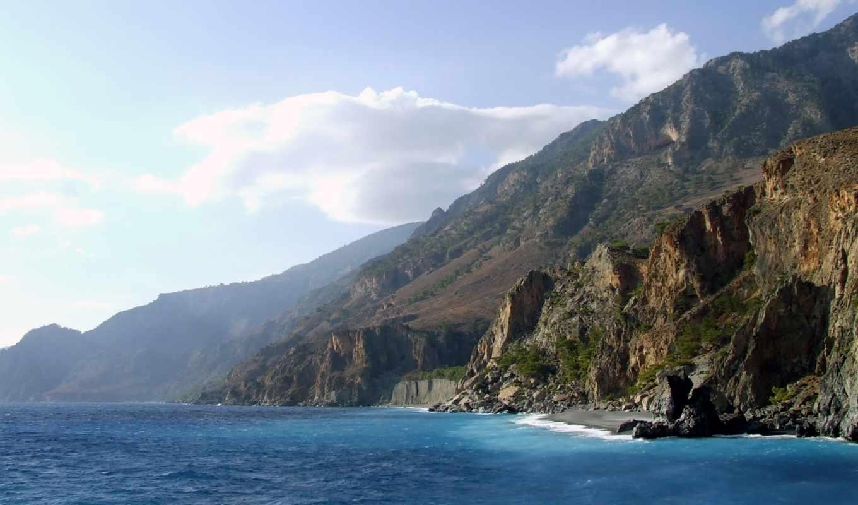 обои, природа, красивая, широкоформатные, горы, na