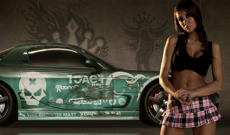 speed, need, prostreet, девушка, pro, street, авто, girls, смотрите,