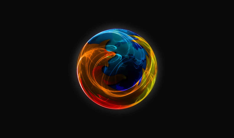 firefox, mozilla, logo, abstract