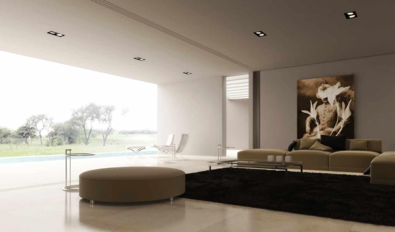 интерьер, дизайн, комната, дом,