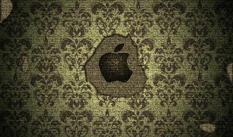 красивые, только, день, apple, заставки, каждый, logo, текстура, февр,