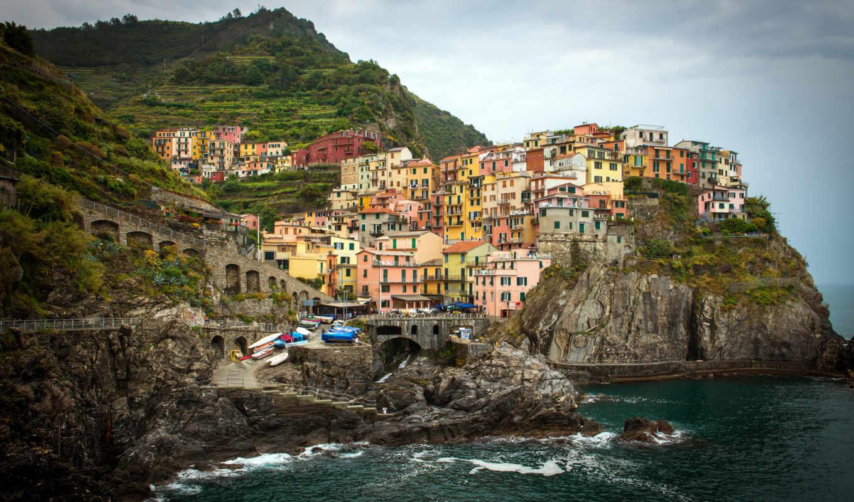 горы, italy, лигурия, италии, природа, oblaka, пейзажи -, clouds, landscapes, region,