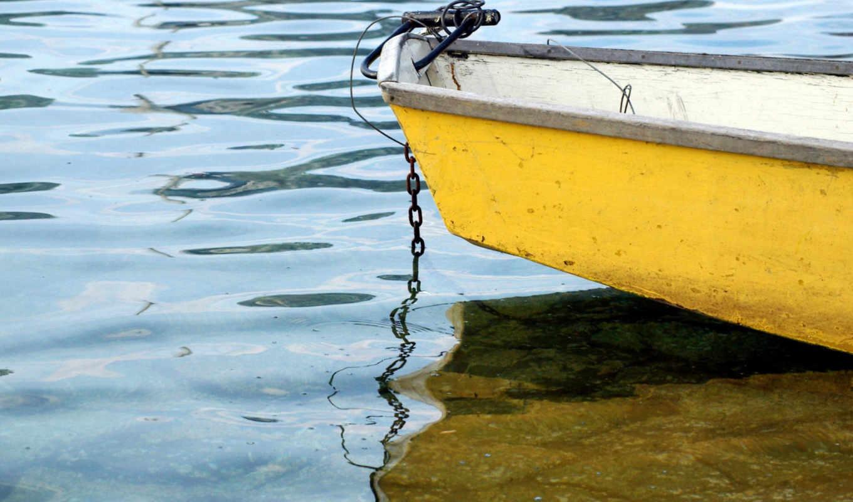 лодка, barco, yellow, мели, amarillo, изображение, nature, wallpaperbase, free, fondos, other, зжґ, yellowboat, priroda, pantalla, desktop,