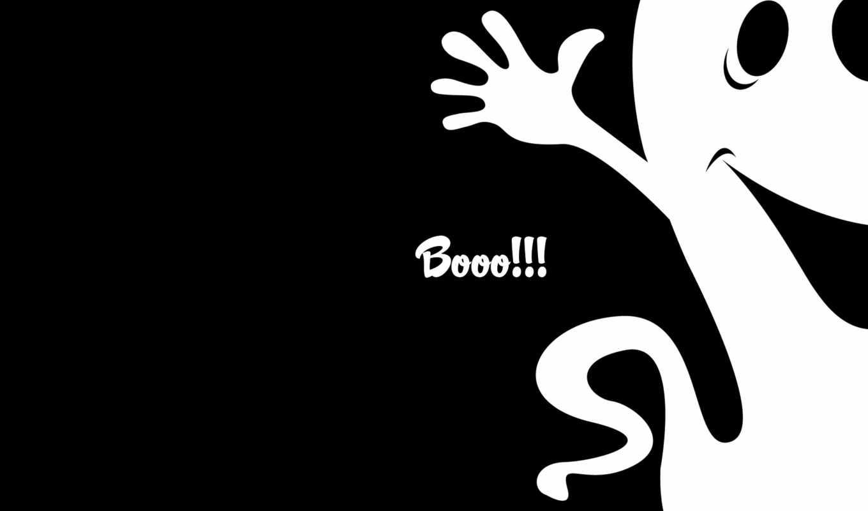halloween, минимализм, приведение, black, white, desktop, смотрите, click, holidays, ghost, download,