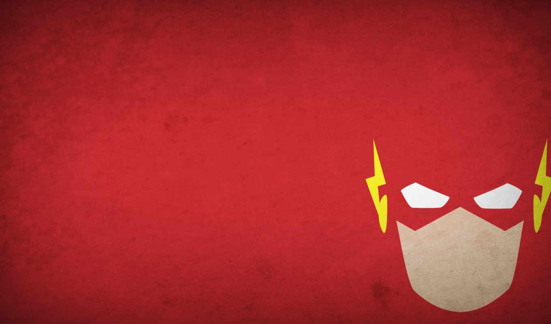 flash, минимализм, герой,