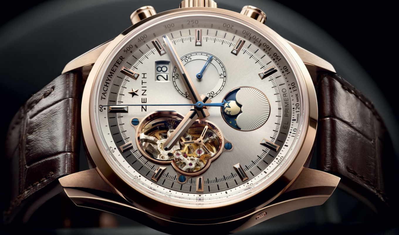 zenith, primero, chronomaster, grande, open, date, moon, часы, sunphase, sunpahse, watch,