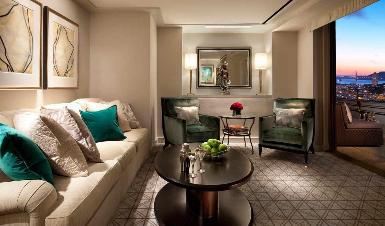 интерьер, стиль, дизайн, бежевый, комната, диван,