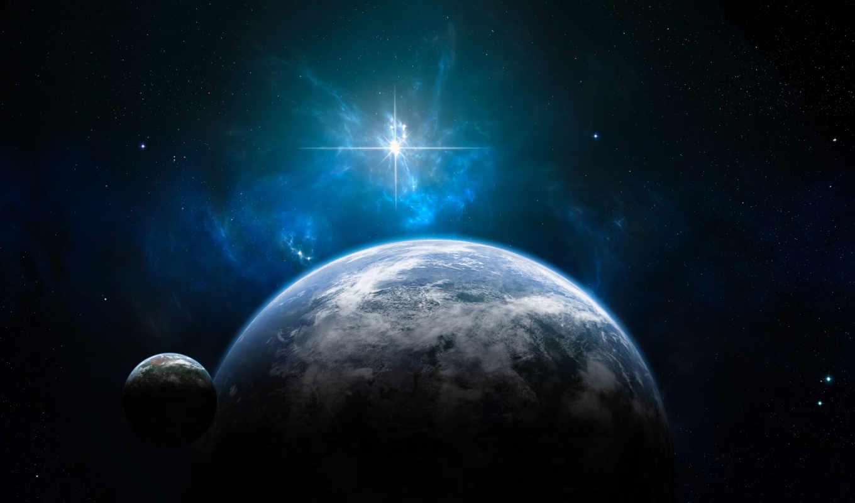 космос, land, звезды,