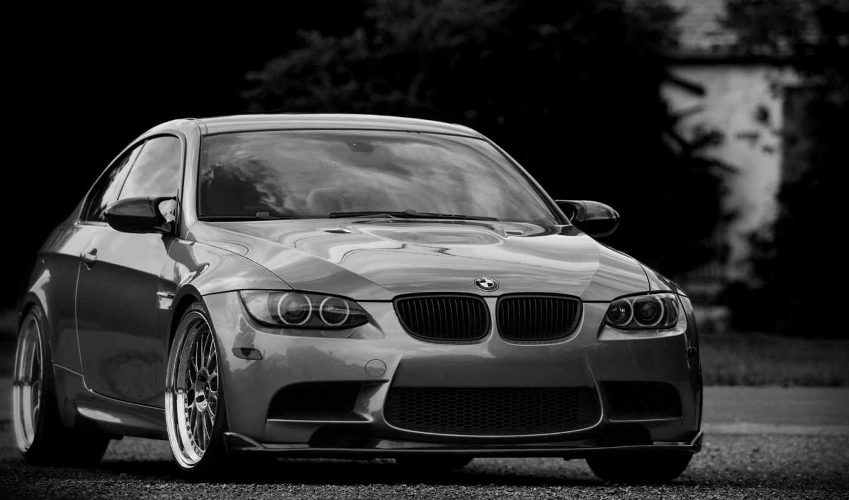 bmw, бмв, silvery, silver, coupe, wheels,