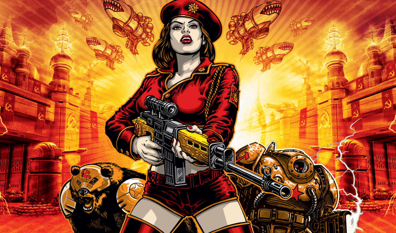 red, alert, conquer, command, является, xbox, сommand, достойным,
