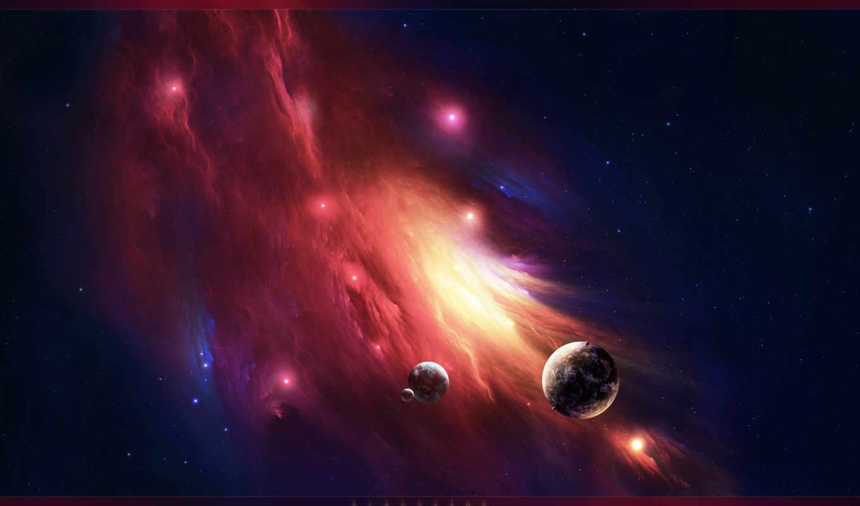 nebula, космос, planet, взгляд, size, click, desktop, биг,