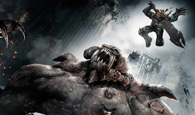 darksiders, игры, game, war, wrath, games, видео, trauma, kill, компьютерные, اللعبة, desktop, sci, fantasy,
